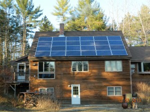 A Granite State Solar installation in Wilmot, New Hampshire.