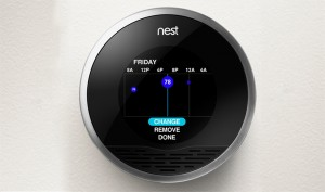 Navigant Research reports that the number of smart thermostats in operation around the world will jump from 1.4 million currently installed to some 32 million by 2020. These kinds of numbers will help utilities meet or exceed energy efficiency goals regardless of other upgrades on their power plants. Photo Credit: The Nest
