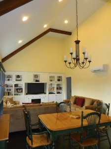 Devens Green, MA Custom Zero Energy Home - Parlee house interior