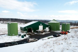 VTC's Anaerobic Digester. Photo courtesy of VTC.