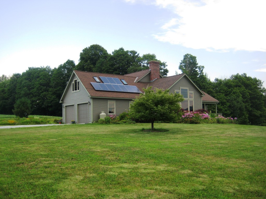 Grant Reynolds, 2.5kW roof mount in Tinmouth, VT