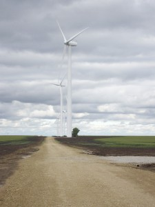 Greensburg Wind Farm. Photo courtesy of the City of Greensburg.