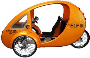 "The Elf, by Organic Transit, a hybrid human/electric-powered vehicle, is a new entry in ""tier 3"""