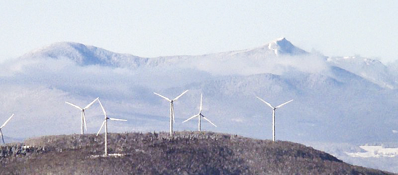 Vermont's Sheffield wind farm. Photo by From the Nek