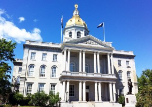 One year ago, the NH State Legislature passed Senate Bill 99, which directed the state to create a ten year energy strategy here at New Hampshire's State House. Photo courtesy of NH Sustainable Energy Association.
