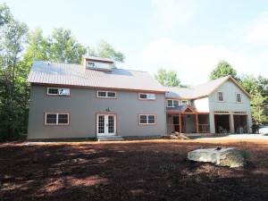 Eastman, New Hampshire Home finished