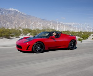 Tesla Roadster (no longer in production)