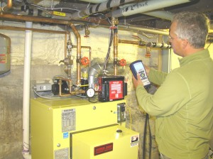 Testing a Heating System's safety and efficiency.
