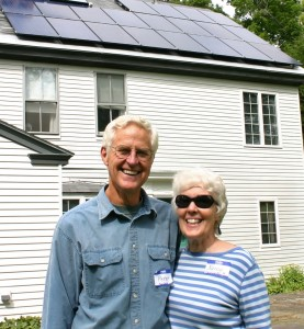 Nancy Mogielnicki was a core volunteer for Solarize Cornish-Plainfield last spring. She and husband Peter also went solar through the program.