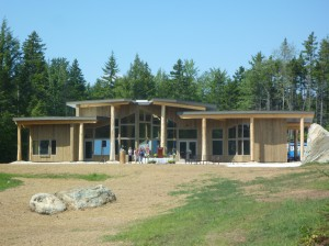 The energy-efficient Burr and Burton Academy's Mountain Campus boasts sustainability. Designed and built by Bensonwood, Walpole, NH. Photos from: burrburton.org