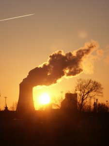 E.ON coal-burning plant in Rostok District, Mecklenburg-Vorpommern, Germany. Photo by Jan Rehschuh.