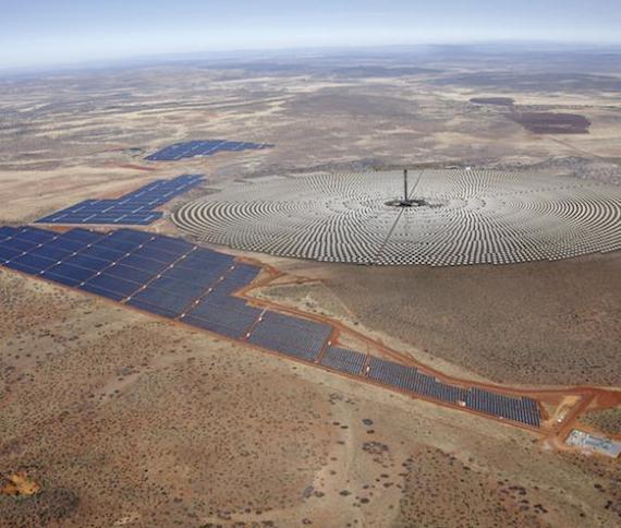 Credit: SolarReserve — Redstone