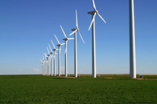Ethiopia with large hydro power and wind farm projects like pictured Green Mountain Wind Farm Fluvanna looks to become the renewable energy powerhouse of Africa.