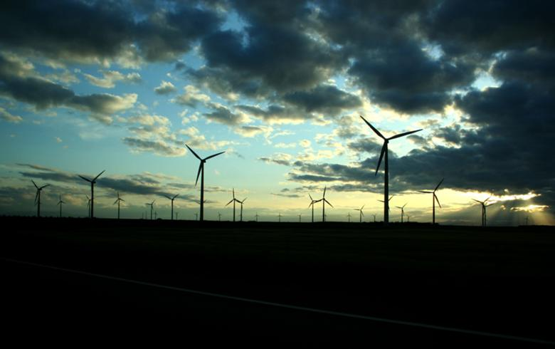 Wind turbines in Spain. Author: petter palander. CC BY SA 2.0