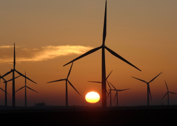 September's unusual weather led to green energy boom. Picture: Ian Rutherford