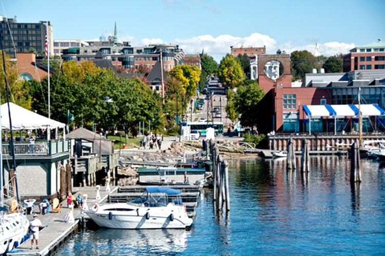 Burlington, Vermont, runs on a mix of biomass, hydroelectric, solar and wind. Erika J Mitchell / Shutterstock.com