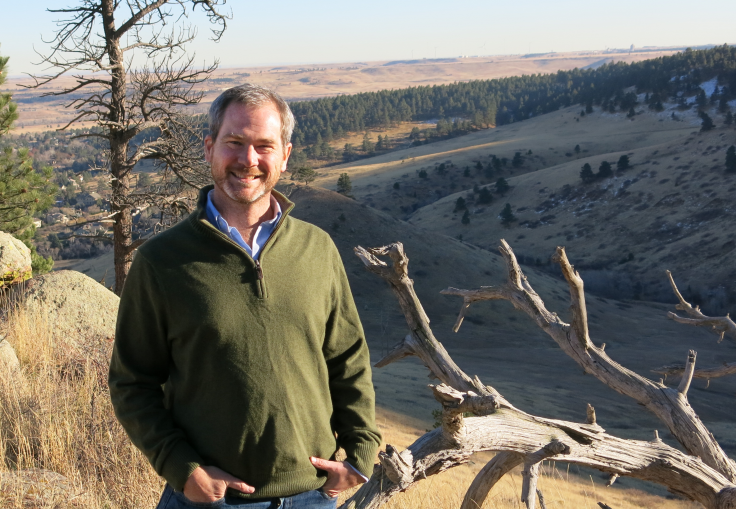 Greg Guibert, Boulder's first ever Chief Resilience Officer. More US cities are using CROs to strategize for climate change and other natural disaster challenges.