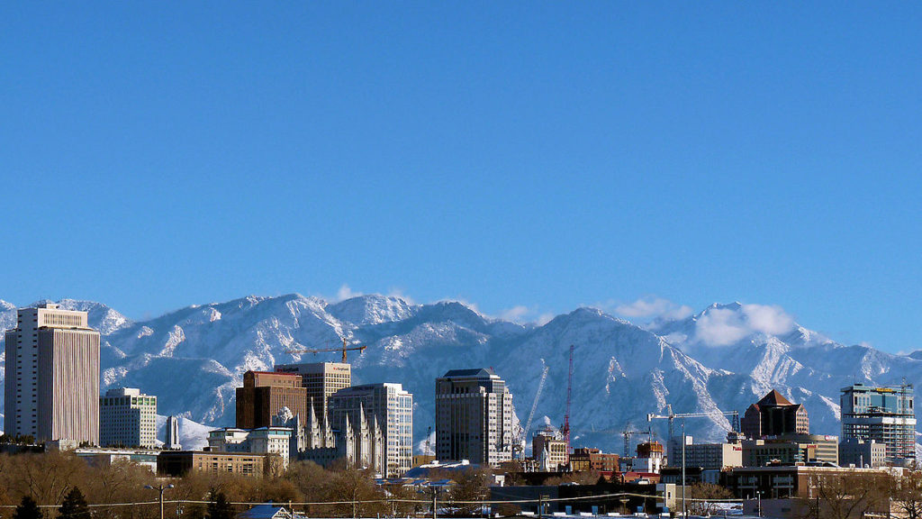 Salt Lake City. Photo by Skyguy414. CC BY-SA 3.0. Wikimedia Commons.