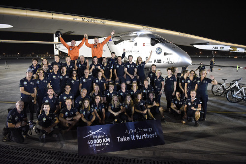 Completing a dream: the first Round-the-World solar flight in history. Solar Impulse blog.