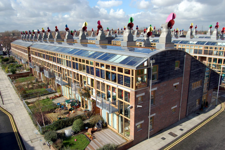 New Rooftop solar in the UK. Photo by Tom Chance (some rights reserved)