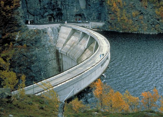 Hydro dam (Statkraft image)