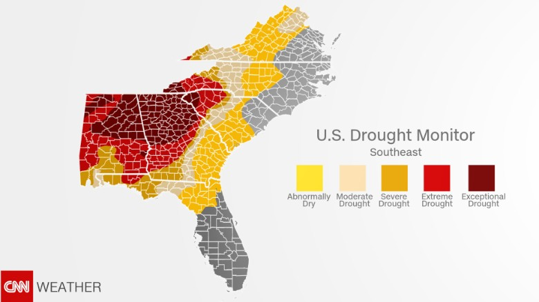 Drought in the Southeast