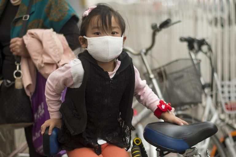 Pollution is a popular discussion topic on social media.(File photo: Fred Dufour, AFP)