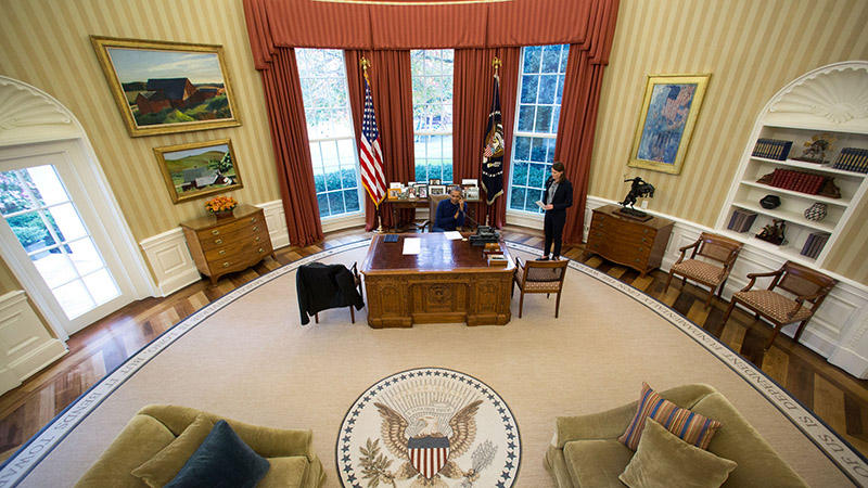 President Obama in the Oval Office (Photo: White House / Flickr)