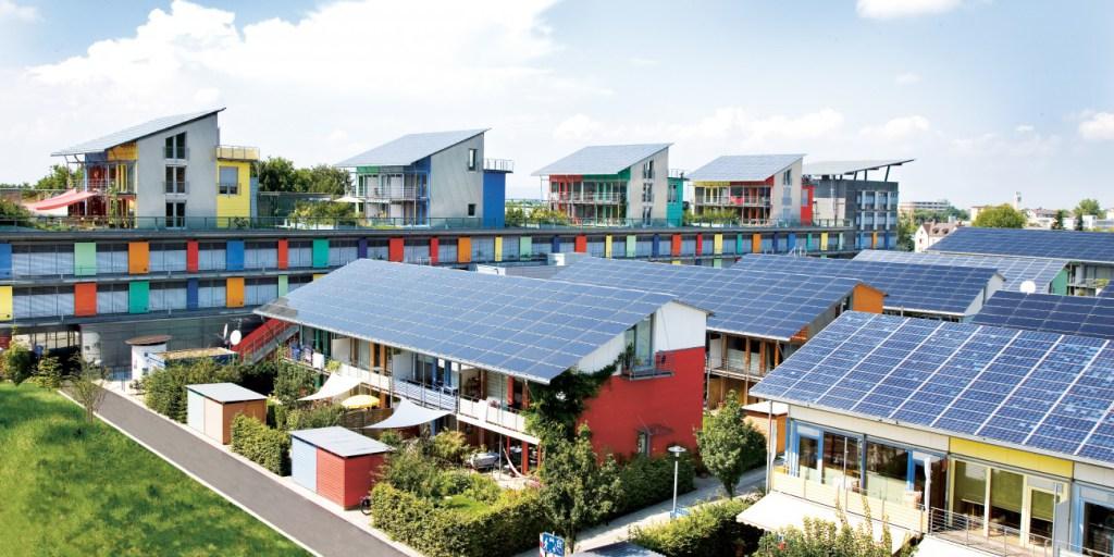 Lots of rooftop solar in Sweden