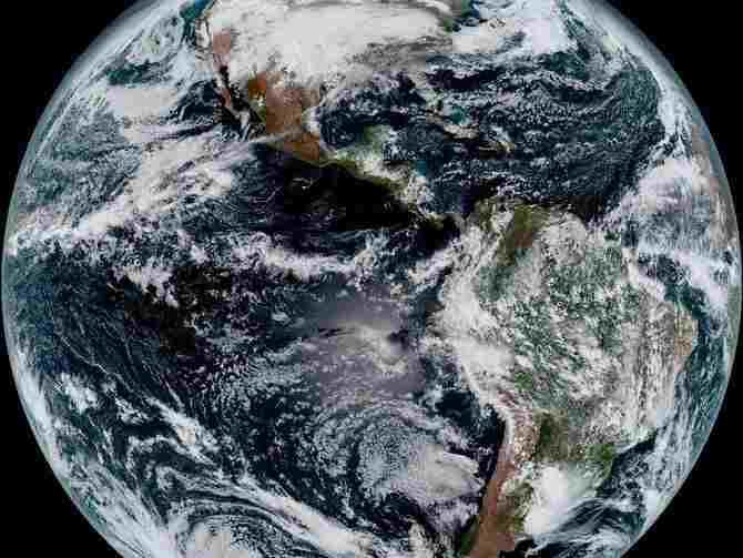 Earth as seen from a NOAA weather satellite (Photo: NOAA / NASA)
