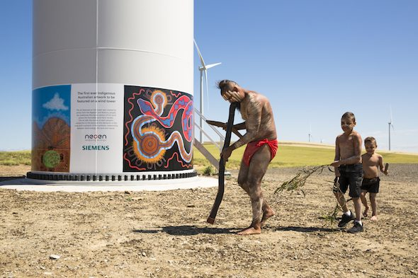 Celebrating wind power