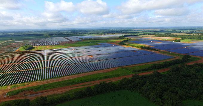 River Bend solar farm (TVA photo)