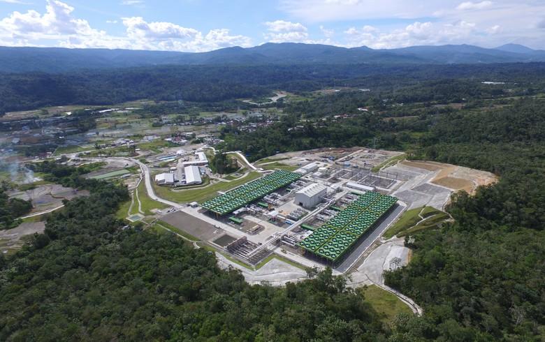 Sarulla geothermal plant (Toshiba photo)