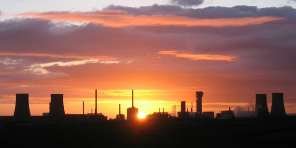 Sunset at the Sellafield nuclear plant (Dom Crayford | Flickr)